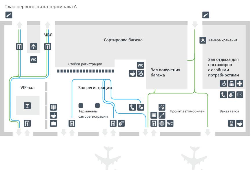 толмачева аэропорт схема
